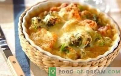 Пиле с карфиол във фурната - страхотно! Рецепти за здравословни и вкусни ястия от пиле и карфиол във фурната