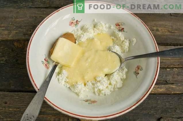 Lihavõttejuust kondenspiimaga ja maapähklivõi