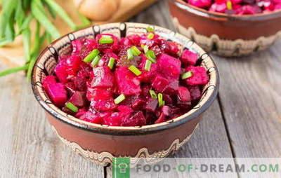 Vinaigrett kartulitega: Vene salat või Euroopa stiilis kaste? Ideed päevastele ja pidulikele salativinaigrettidele kartuliga