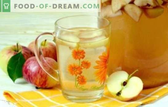 3-liitristes purkides on õunte kompott loomulik jook kogu perele. Parimad retseptid kompootidele õunadest 3-liitristes purkides
