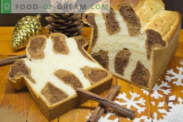 Leopardi brioche - magus leib jõuludeks
