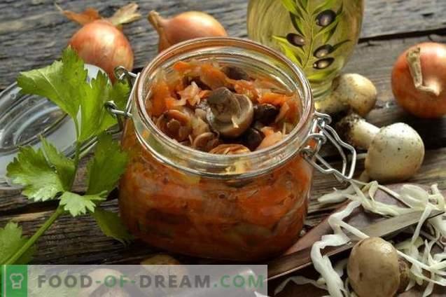 Mushroom hodgepodge talveks