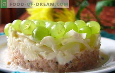 Salade Tiffany - une sélection des meilleures recettes. Comment bien et savoureuse salade cuite