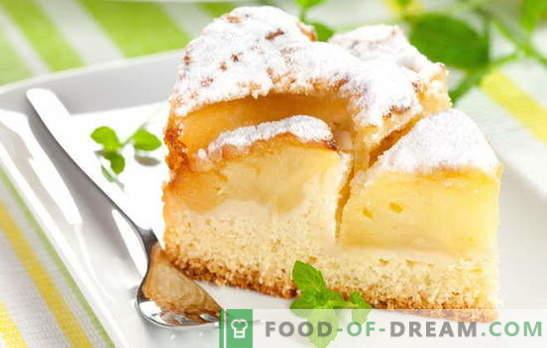 Omatehtud kuklid on alati erilised: õuna kefiiri pirukad. Lihtne retsept kondiitritooted ja tainas jogurtile õunadega