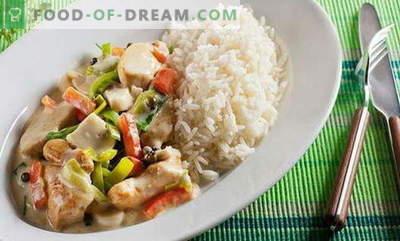 Kana köögiviljadega - parimad retseptid. Kuidas korralikult ja maitsvaid küpsiseid kana köögiviljadega
