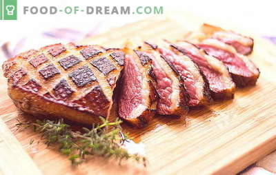 Filé de pato: não há muitas receitas. Diferentes maneiras de cozinhar filé de pato: receitas para o fogão, forno, multicooker
