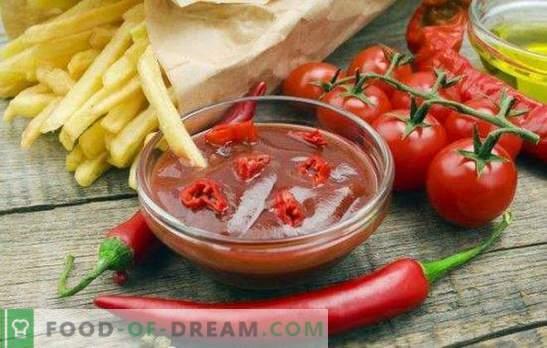 Tomatikett, talveks: hädavajalik kaste iga tassi jaoks. Kõige maitsvamad ja originaalsemad omatehtud ketsupi retseptid talveks tomatitest.