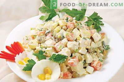 Capital salad - le migliori ricette. Come cucinare correttamente e deliziosamente l'insalata.
