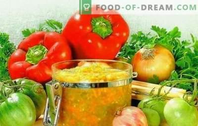 Retsept Yummy Fingers Caviar - Hello alates sügisest. Parimad retseptid roheliste tomatite kaaviarile