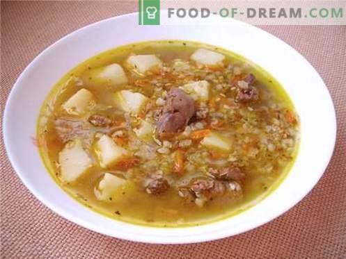 Tatar supp - parimad retseptid. Kuidas valmistada tatarliha ja maitsvat.