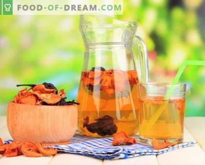 Kuivatatud puuviljade kompott - parimad retseptid. Kuidas õigesti ja maitsev kompott kuivatatud puuviljadest.