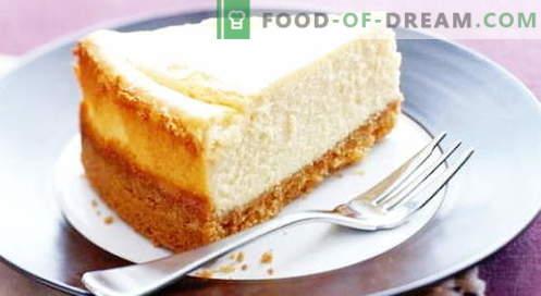Juustukooki juustukook - parimad retseptid. Kuidas korralikult ja maitsev kokk kohupiima juustukook.