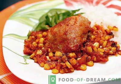 Mehhiko kana - parimad retseptid. Kuidas korralikult ja maitsvalt valmistada Mehhiko kana.