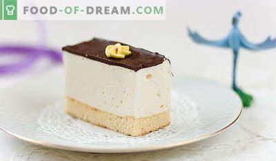 Cake Bird's Milk - parimad retseptid. Kuidas korralikult ja maitsvalt küpsetada kodus kooki Linnupiim.