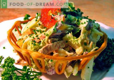 Vene salat - parimad retseptid. Kuidas õigesti ja maitsev kokk Vene salat