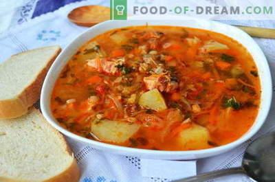 Kharcho supp - parimad retseptid. Kuidas õigesti ja maitsev kokk supp kharcho.