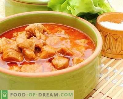 Kana kastmes - parimad retseptid. Kuidas õigesti ja maitsev kokk kana kastmes.