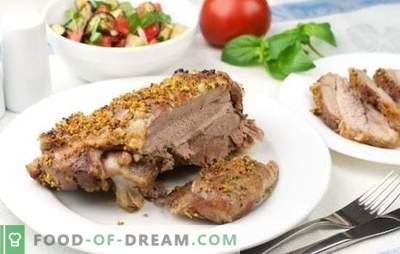 Türgi pan: retseptid üle maailma. Kuidas praadida kalkuni pannil maitsev ja kiire: jalad, praed, hautatud köögiviljad