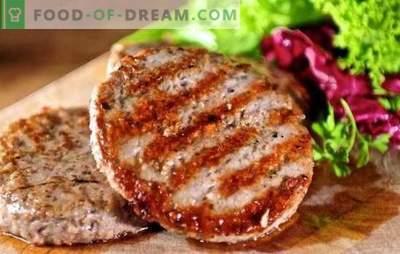 Juicy ja krõbedad grillitud lihapallid - väga võrgutav! Grillil olevate lihapallide sordid ja nende valmistamise omadused