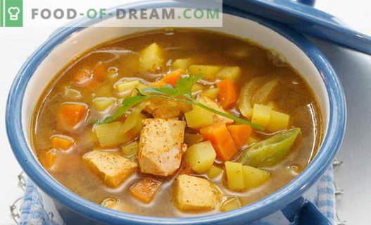 Lõhe supp - tõestatud retseptid. Kuidas õigesti ja maitsev kokk lõhe supp.
