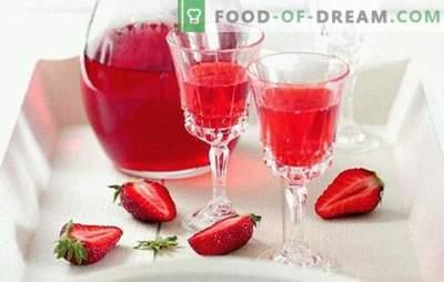 Maasika liköör kodus - peale võistluse! Kõik õrnused ja retseptid maasika likööri valmistamiseks kodus