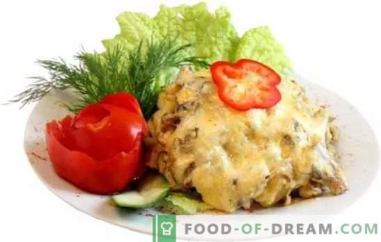 Sealiha karusnaha all ahjus: kartulite, kapsa, kurkide, ananassidega. Pehme, mahlane sealiha küpsetamine erinevatest toodetest