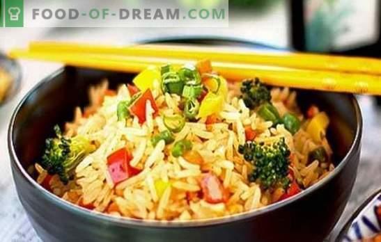 Riis koos köögiviljadega aeglases pliidis - süüakse mõlemale põskele! Retseptid erinevate riisiroogade ja köögiviljadega aeglases pliidis