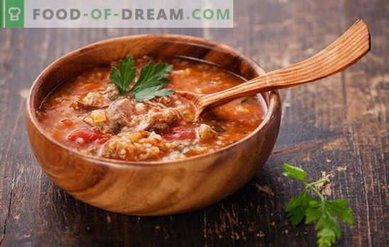 Харчо с ориз: цялата тайна е в бульон! Шестте най-добри рецепти за приготвяне на богат, ароматен хърчо с ориз