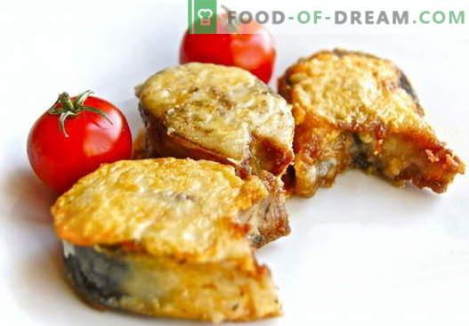 Пържена Скумрия - най-добрите рецепти. Как да правилно и вкусно готви печена скумрия.