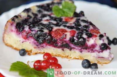 Berry pirukad on parimad retseptid. Kuidas õigesti ja maitsev valmistada kook marjadega.