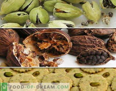 Kardamom - kirjeldus, omadused, kasutamine toiduvalmistamisel. Retseptid kardemoniga.