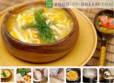 Kana supp - parimad retseptid. Kuidas valmistada kana suppi.