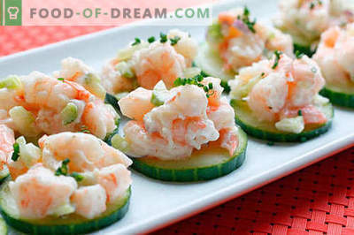 Konserveeritud kalmaar salat - valik parimaid retsepte. Kuidas õigesti ja maitsev valmistada salat konserveeritud kalmaari.