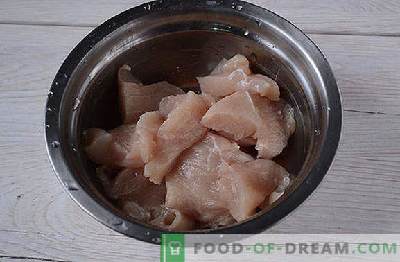 Pollo empanado marinado en salsa de soja: ¡cocina durante 20 minutos! Receta fotográfica paso a paso de filete de pollo rebozado con sabor oriental