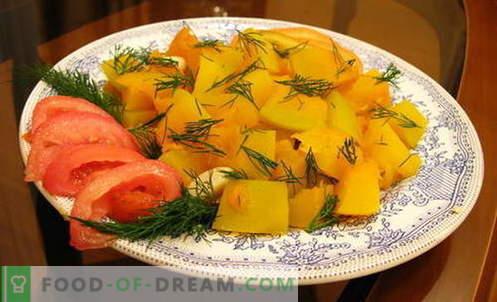 Pumpkin aeglases pliidis - parimad retseptid. Kuidas korralikult ja maitsev kokk kõrvits aeglases pliidis.