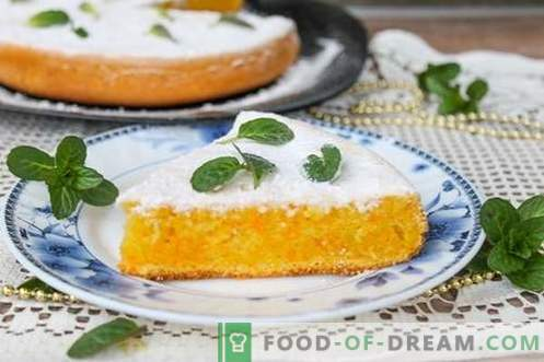 Carrot cake - tasty, economical and healthy!