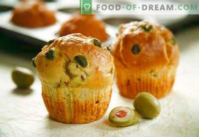 Muffinid: šokolaad, banaan, juust, kefiir - parimad retseptid. Kuidas küpsetada muffinit koos täidistega kodus.