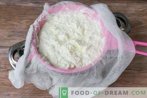 Juust või fetajuust kodus. Kodune juust on maitsev ja odav.