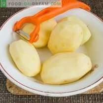 Kartoffelknödel mit Fleisch