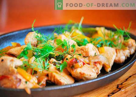 Kanafilee - parimad retseptid. Kuidas korralikult ja maitsvalt süüa kanafileed.