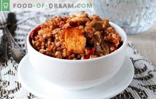 Tatar, mille kana on aeglases pliidis, on parim viis maitsva lõuna valmistamiseks. Valik retsepte tatarile kana puhul multikookeris