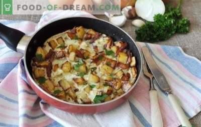Sibula omlett - maitsev hommikusöök kogu perele. Parimad retseptid munapuderitele sibulaga pannil, aeglases pliidis ja ahjus