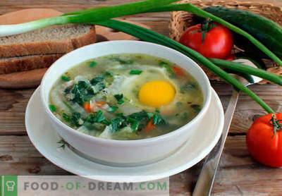Zupa pokrzywy - sprawdzone przepisy. Jak prawidłowo i smacznie gotować zupę pokrzywy.