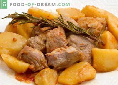 Hautatud kartulid on parimad retseptid. Kuidas korralikult ja maitsvalt küpsetada hautatud kartuleid lihaga.