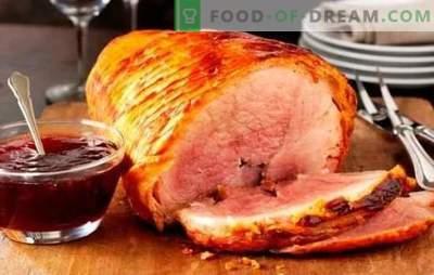 Küpsetatud sink ahjus fooliumis: samm-sammult retseptid liha delikatessiks. Küpsetatud sealiha retseptid fooliumis samm-sammult kirjeldusega