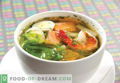 Miso supp - tõestatud retseptid. Kuidas korralikult ja keedetud miso suppi.