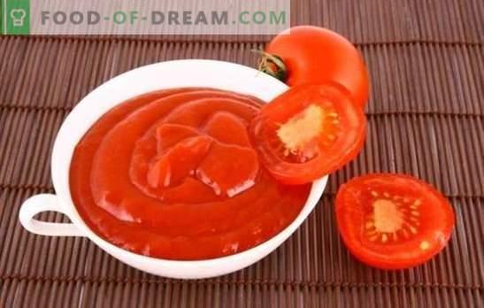 Tomati marinaad - kogu selle maitse! Retseptid mahlaste marinaatide valmistamiseks tomatipastast ja mahlast erinevate lihade, kala, linnuliha jaoks
