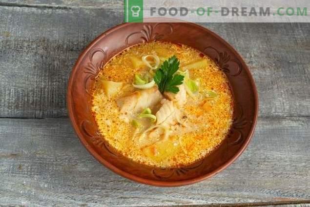 Lekka zupa rybna z mintaja