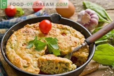 Omlett kohupiima ja spinatiga