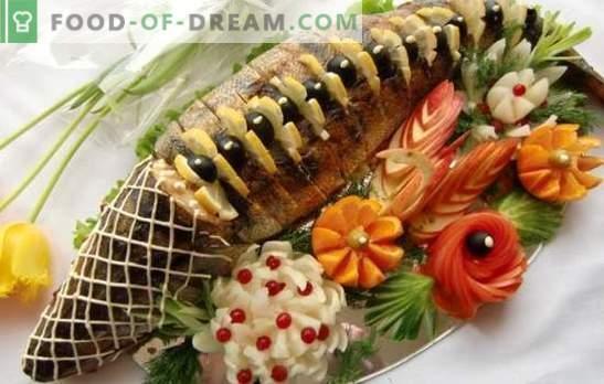 Täidetud roosa lõhe - üllatusega king-kala. Täidetud roosa lõhe täitematerjalid: teravili, seened, köögiviljad, juustud